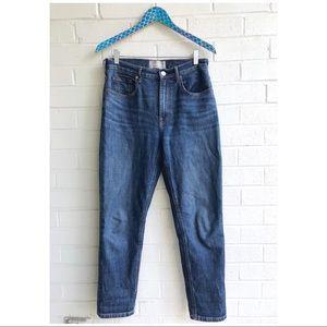 Everlane High Waist Straight Jeans